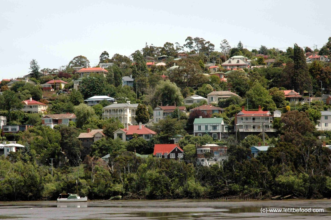 Launceston Australia  City new picture : ... front Homes along the Tamar River, Launceston, Tasmania, Australia